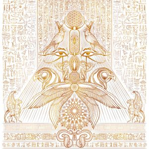 THE AUSPICES OF HORUS - CLEAR GOLDEN